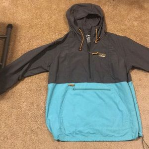 LLBean mountain classic anorak jacket large